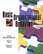 Basic organizational behavior
