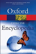 A concise encyclopedia