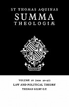 Law and political theory : (1a2æ. 90-97)