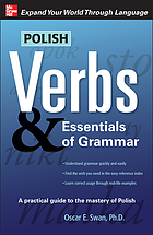 Polish verbs & essentials of grammar