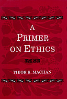 A primer on ethics