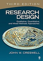 Research design : qualitative, quantitative, and mixed method approaches