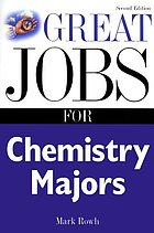 Great jobs for chemistry majors