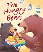 Two hungry bears
