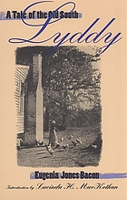Lyddy : a tale of the Old South
