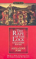 The rape of the lock, and other poems