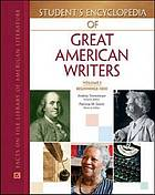Student's Encyclopedia of Great American Writers Set (5-Volume Set)