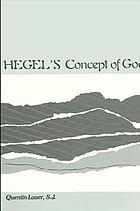 Hegel's concept of God