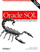 Oracle SQL : the essential reference