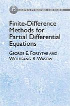 Finite-difference methods for partial differential equations