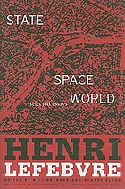 State, space, world : selected essays