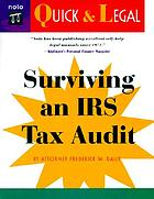 Surviving an IRS tax auditSurviving an IRS audit