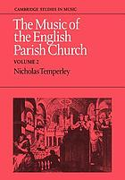 The music of the English parish church