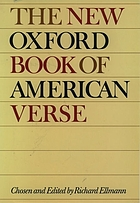 The New Oxford Book of American Verse