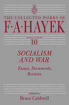 Socialism and war : essays, documents, reviews