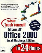 Sams teach yourself Microsoft Office 2000 in 24 hours