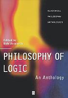 Philosophy of logic : an anthology