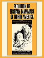 Evolution of tertiary mammals of North America