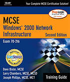 MCSE Windows 2000 network infrastructure : training guide