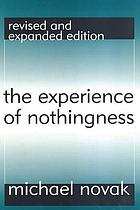 The experience of nothingness