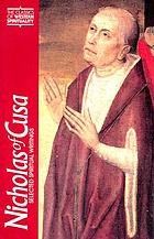 Nicholas of Cusa on God as not-other : a translation and an appraisal of De li non aliud