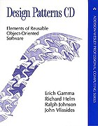 Design patterns CD elements of reusable object-oriented software