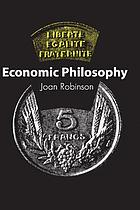 Economic philosophy