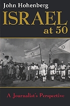 Israel at 50 : a journalist's perspective