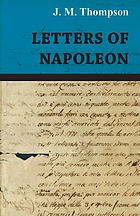 Letters of Napoleon