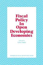 Fiscal policy, economic adjustment, and financial marketsFiscal policy, economic adjustment, and financial markets : papers presented at a seminar sponsored by the International Monetary Fund and Centro di Economia Monetaria e Finanziaria, Università Bocconi, held in Milan on January 28-30, 1988