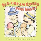 Ice-cream cones for sale!