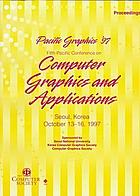 The Fifth Pacific Conference on Computer Graphics and Applications : proceedings : October 13-16, 1997, Seoul National University, Seoul, Korea