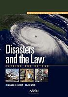 Disasters and the law : Katrina and beyond