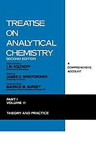 Treatise on analytical chemistryTreatise on analytical chemistry