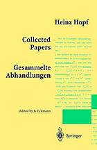 Collected papers = sammelte Abhandlungen