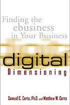 Digital dimensioning : finding the ebusiness in your business