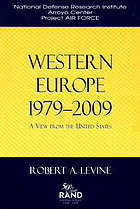Western Europe, 1979-2009 : a view from the United States