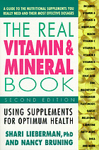 The real vitamin & mineral book