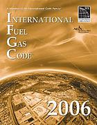 International fuel gas code, 2006