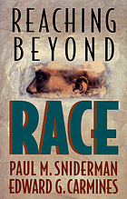 Reaching beyond race