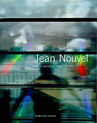 Jean Nouvel : the elements of architecture