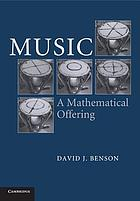 Music : a mathematical offering