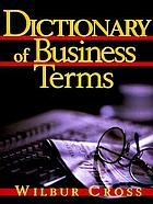 Prentice Hall encyclopedic dictionary of business terms