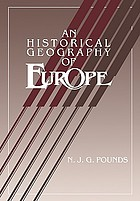 An historical geography of Europe, 450 B.C.-A.D. 1330
