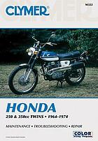 Honda 250 & 350cc twins, 1964-1974 : service, repair, performance