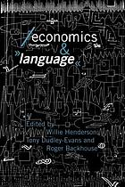 Economics and language