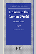 Judaism in the Roman world collected essays