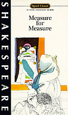 Measure for measure : with new dramatic criticism and an updated bibliography