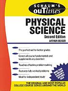 Schaum's outline of theory and problems of physical science