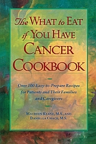 The what to eat if you have cancer cookbook : over 100 easy-to-prepare recipes for patients and their families and caregivers